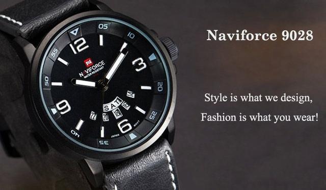 Imagem de Relógio de Pulso NaviForce Modelo 9028