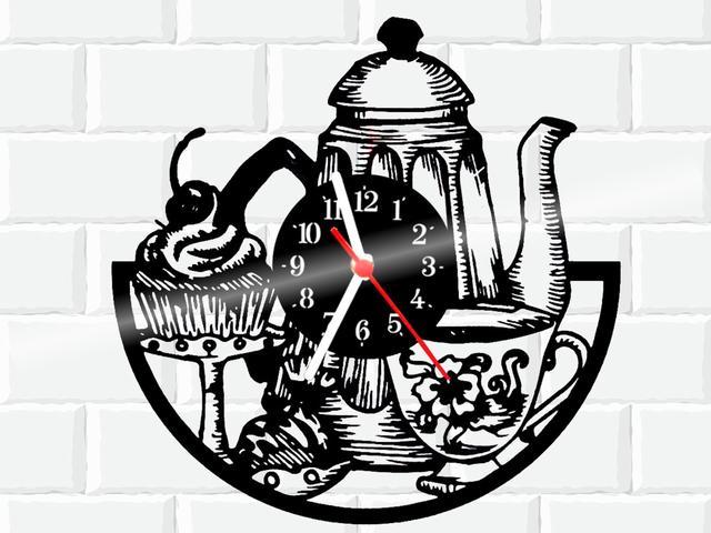 Imagem de Relógio De Vinil Disco Lp Parede  Cozinha Casa Decoracao