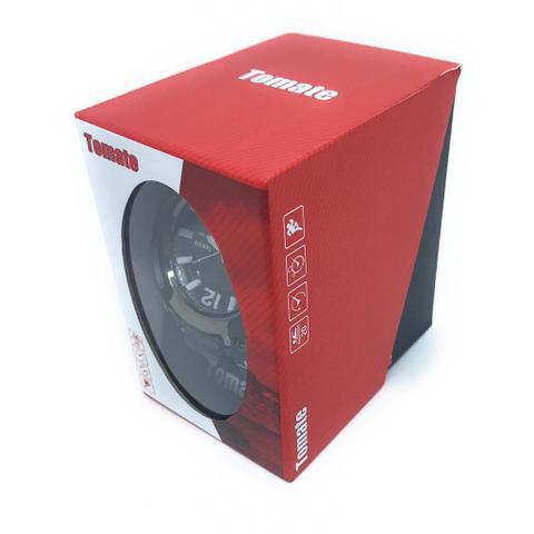 Imagem de Relogio digital esportivo de pulso a prova de agua com cronometro alarme luz noturna lcd tempo duplo analogico masculino