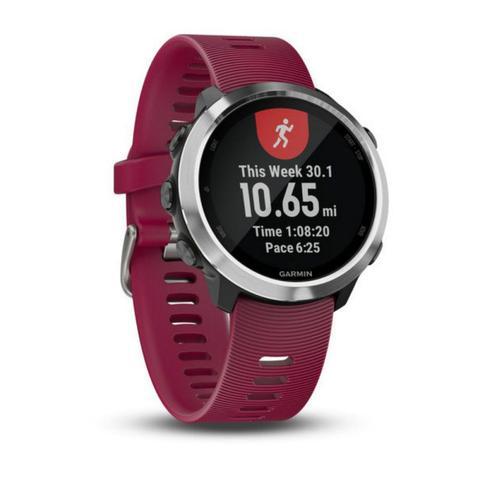 Imagem de Relógio Esportivo Garmin Forerunner 645 Music Cereja 010-01863-21 com GPS e Monitor Cardíaco