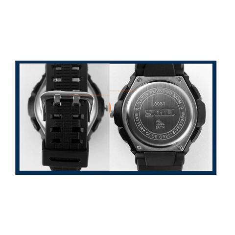 Imagem de Relógio Esportivo Militar Masculino Skmei S-shock 0931 LED Digital Analógico À Prova D'Água Alarme Cronometro Quartz Junqiao - Original