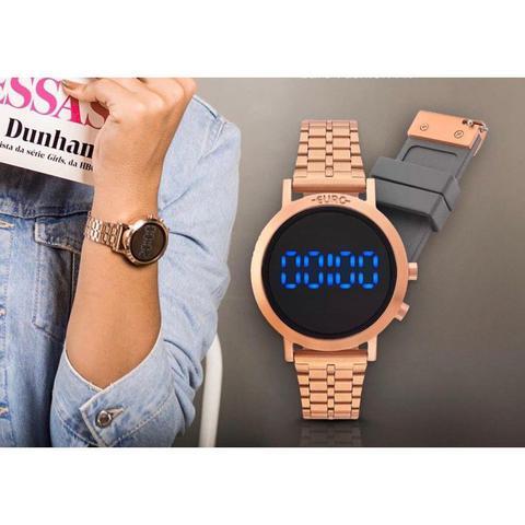 e2bdf73098 Relógio Euro Feminino Fashion Fit Rosé EUBJ3407AC T4P - Relógio ...