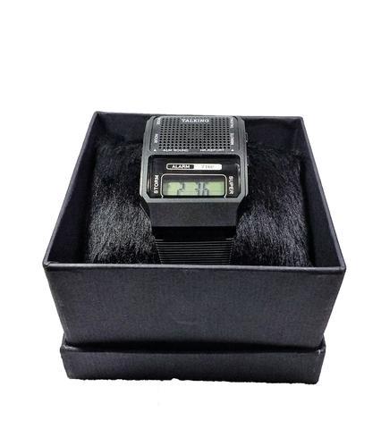9b02e1bb52c Relógio Fala Hora Portugues Deficiente Visual E Idoso - Inn ...