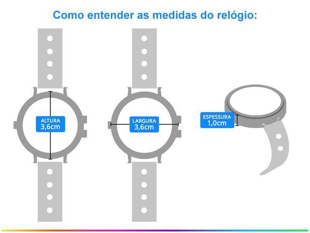 Imagem de Relógio Feminino Allora Analógico AL2035FNM/4D