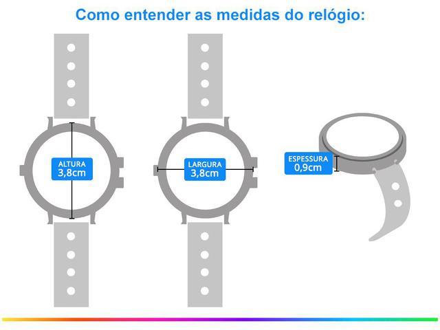 Imagem de Relógio Feminino Analógico Seculus