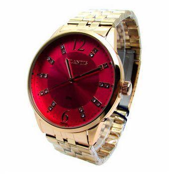 Imagem de Relogio feminino atlantis g3495 rosê fundo rosa