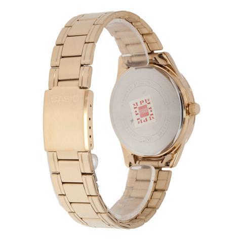 c8e5591211f Relógio Feminino Casio Dourado MTP-V005G-7AUDF - Relógio Feminino ...