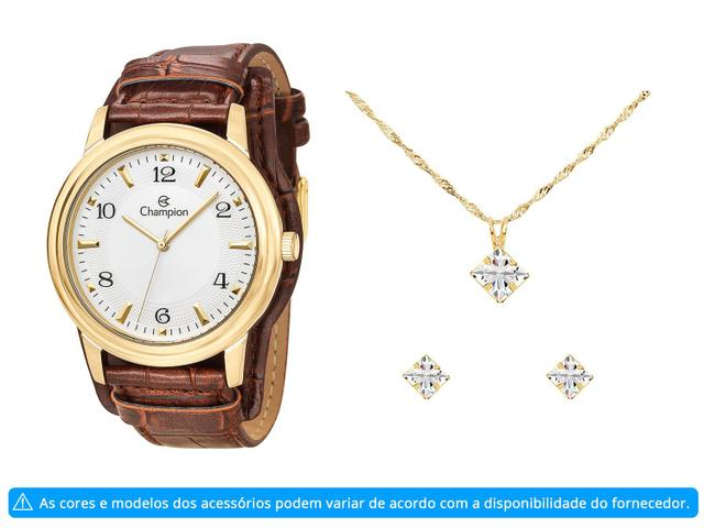 Imagem de Relógio Feminino Champion Analógico CN20195W