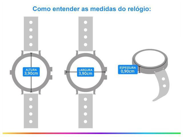 Imagem de Relógio Feminino Champion Analógico CN29043W
