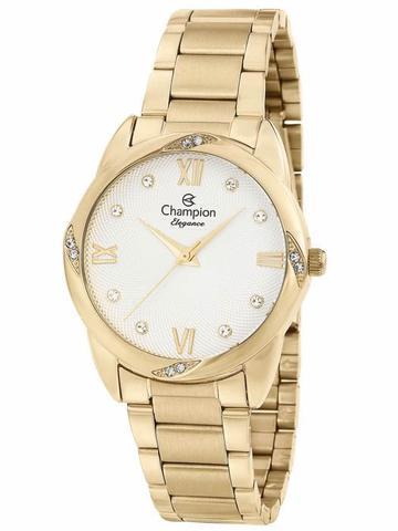 Imagem de Relógio Feminino Champion Dourado - CN25958H