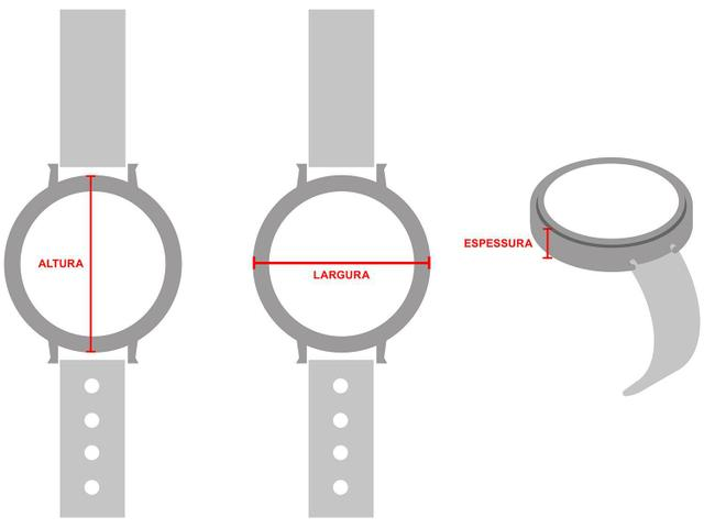 d4b1dd68e8f Relógio Feminino Mondaine Analógico - 53736LPMGRE3 - Relógio ...