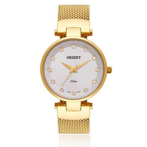 Imagem de Relógio Feminino Orient Analógico FGSS0070 S1KX Dourado