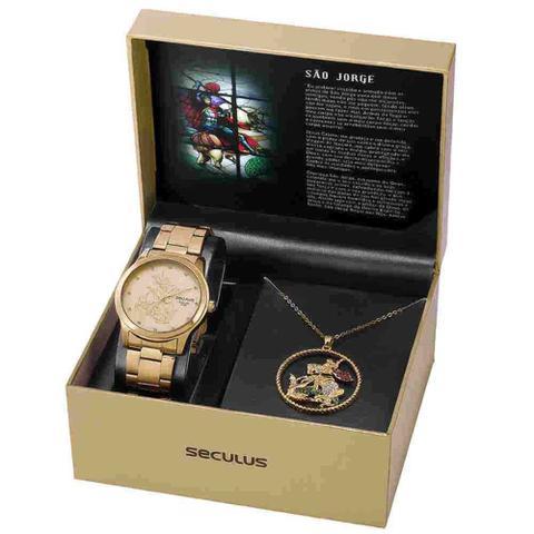 Imagem de Relógio Feminino seculus são jorge 35019lpskda1k1