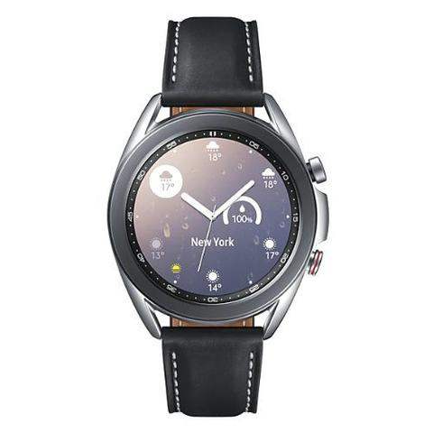 Imagem de Relógio galaxy watch 3 prata lte 41mm sm-r855fzspzto  samsung