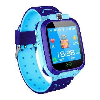Imagem de Relógio Infantil Criança Rastreador Gps Localizador C/câmera Anti-lost Sos Smartwatch Azul