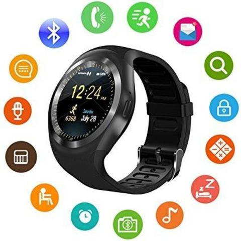 Imagem de Relógio Inteligente Smart Watch Y1 Android Touch Bluetooth