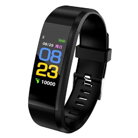 Imagem de Relógio Inteligente Smartband 3 Monitor Passo Pressão Sanguínea Calorias Sono Ritmo Cardíaco
