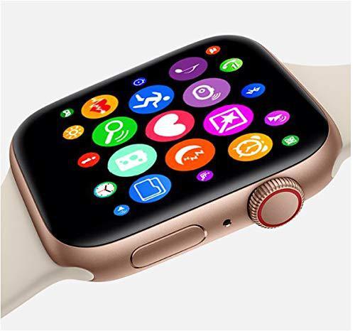 Imagem de Relogio Inteligente SmartWatch Iwo8 44mm compatível Iphone Samsung Lançamento 2019 cores preto