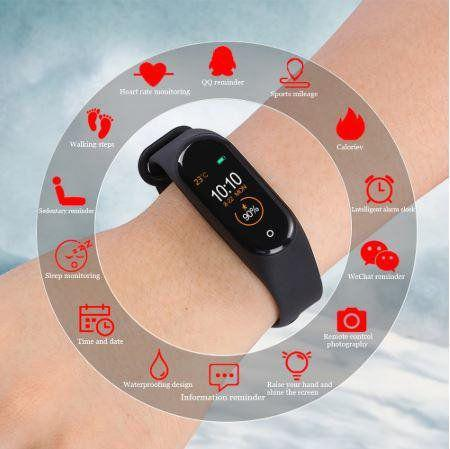 Imagem de Relogio inteligente tomate mtr-24 smart watch android ios