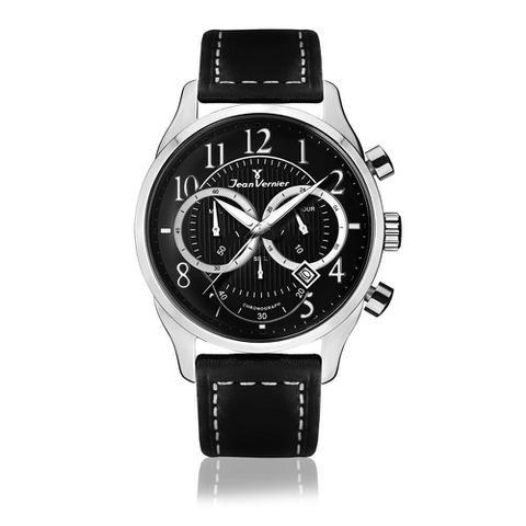Imagem de Relógio Jean Vernier Masculino Ref: Jv5203 Cronógrafo Prateado