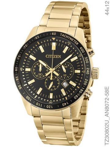 Imagem de Relógio Masculino Citizen TZ30802U Dourado