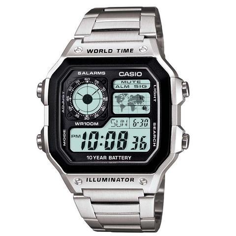 Imagem de Relógio Masculino Digital Multifunção - Casio
