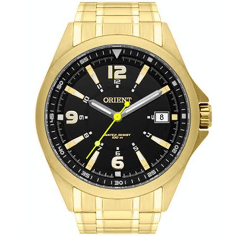 Imagem de Relógio Masculino Dourado Esportivo Orient Mgss1107 P2kx