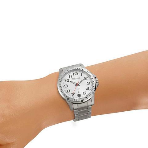 Imagem de Relógio Masculino em Aço Casual Prata 20787G0SVNA1 Seculus