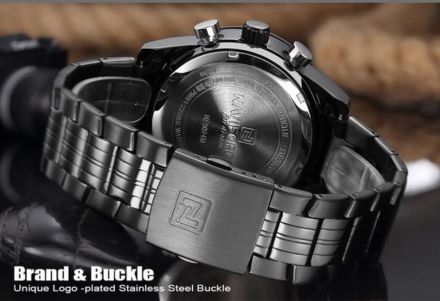 Imagem de Relógio Masculino Esporte Racer Militar Naviforce C/ Caixa NF9024