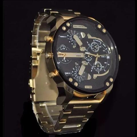 Imagem de Relógio masculino modelo dz7333 pulseira em aço