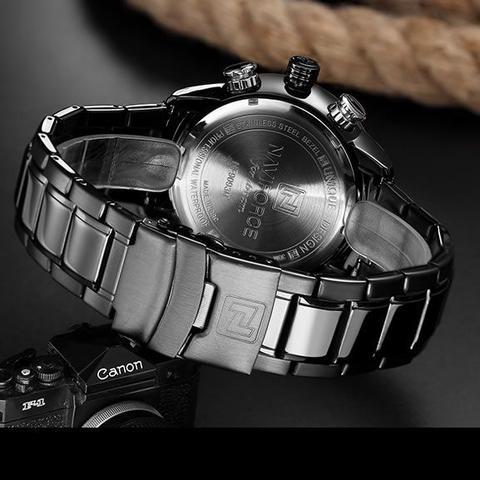 Imagem de Relógio Masculino Naviforce 9093 - Prata