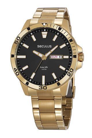 Imagem de Relógio masculino Seculus Analógico 20795GPSVDA3