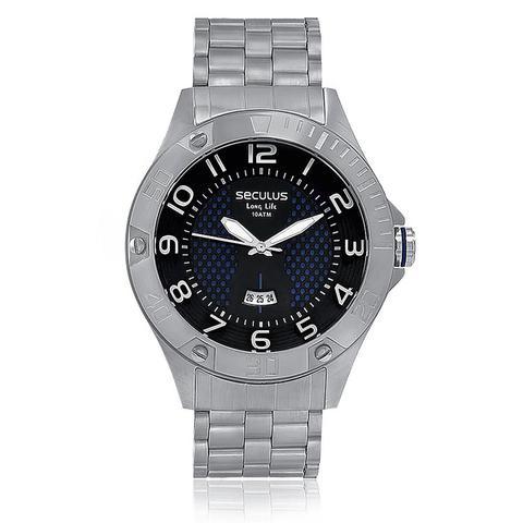 Imagem de Relógio Masculino Seculus Long Life Analógico 28474G0SVNA2 Aço