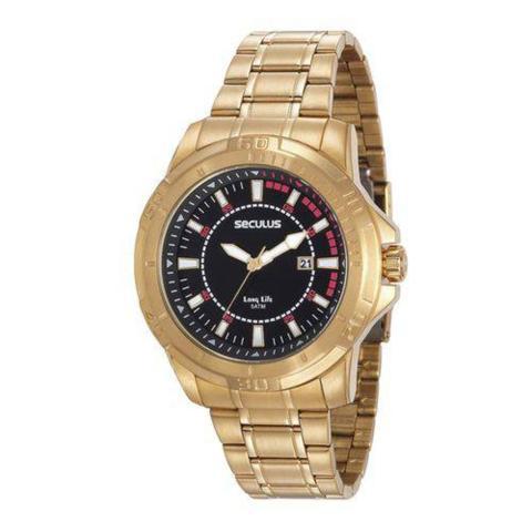 Imagem de Relógio Masculino Seculus Modelo 20620GPSVDA2