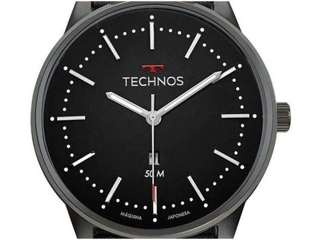 Imagem de Relógio Masculino Technos Analógico Steel