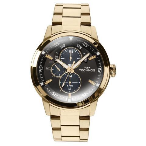 Relógio Masculino Technos Dourado 6P57AA 4P - Relógio Masculino ... cb1e2e5608