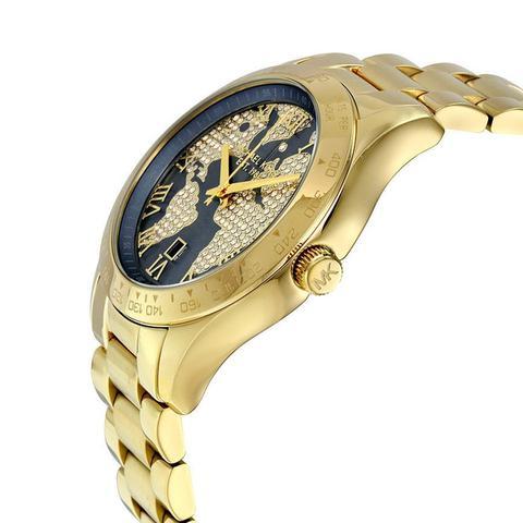 94695728b50ec Relogio michael kors feminino dourado mk6243 - Jjoias - Relógio ...