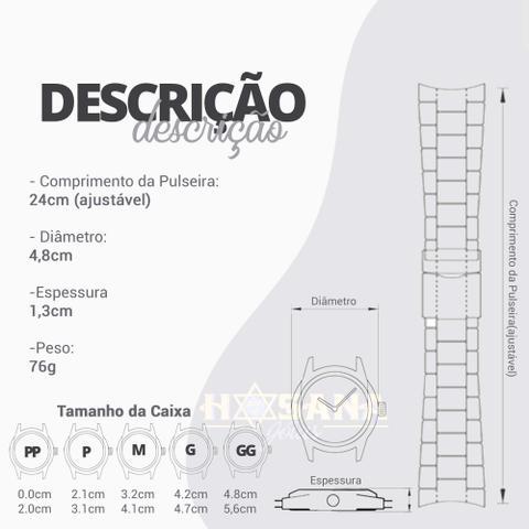 Imagem de Relógio Mondaine Esporte Silicone 76723GPMVDI2 Preto Dourado