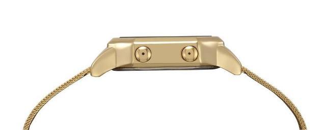 Imagem de Relógio Mondaine Feminino Quadrado Digital 32094MPMVDE1 - Dourado