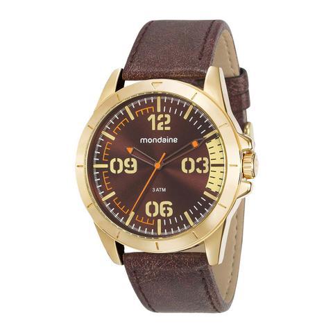 Imagem de Relógio Mondaine Masculino 76702gpmvdh1 Dourado