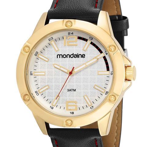 Imagem de Relógio Mondaine Masculino 83396GPMVDH1 Dourado