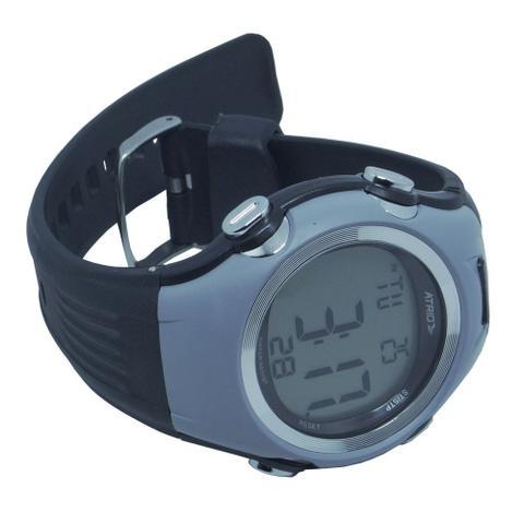 Imagem de Relógio Monitor Cardíaco de Pulso com Cinta Fita Altius Fortius Frequencimetro Batimento Hora HC008