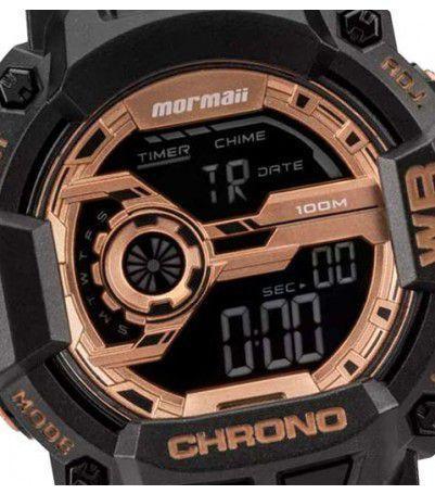 84adf68454683 Imagem de Relógio Mormaii Acqua Action Masculino Preto Rose MO1105B 8J