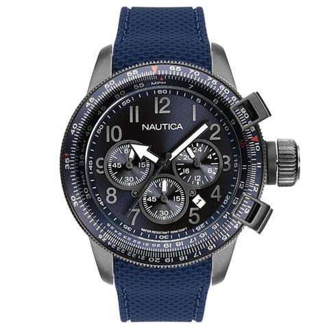bdba5f8b029 Relógio nautica masculino aço - napptr004 - Relógio Masculino ...