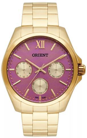 Imagem de Relógio Orient Feminino Multifunção Fgssm050 R3kx Dourado
