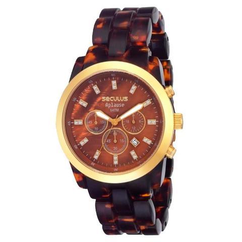 12c727ab89c Relógio Seculus Feminino Aplause - 24787LPSFDP1 - Relógio Feminino ...