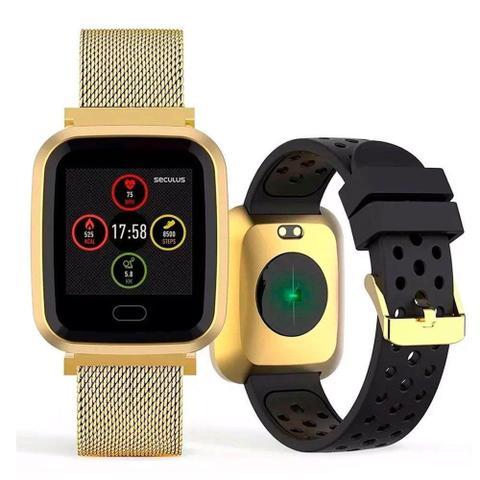 Imagem de Relógio Seculus Smartwatch Troca Pulseira 79006MPSVD