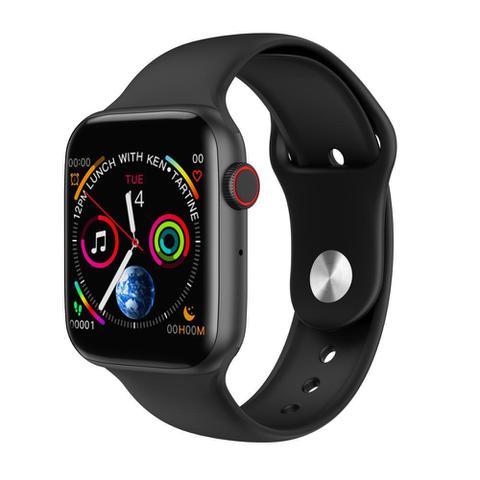 Imagem de Relógio Smartwatch Bluetooth Iwo 8 LITE Notificações Para Ios E Android - Preto