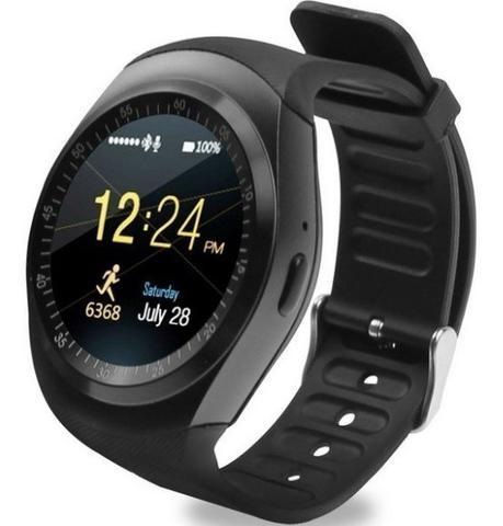 Imagem de Relógio Smartwatch  Inteligente Bluetooth Android Chip Y1