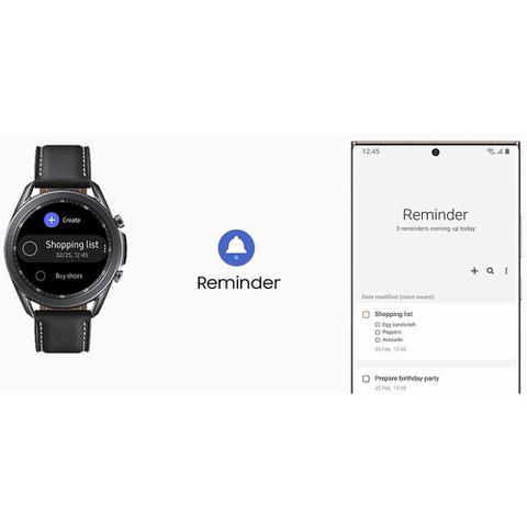Imagem de Relógio Smartwatch Samsung Wath 3, SM-R845F  Preto